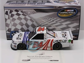 2018 Autographed St. Louis Raced Version Truck Win  / Justin Haley 1:24  Wall
