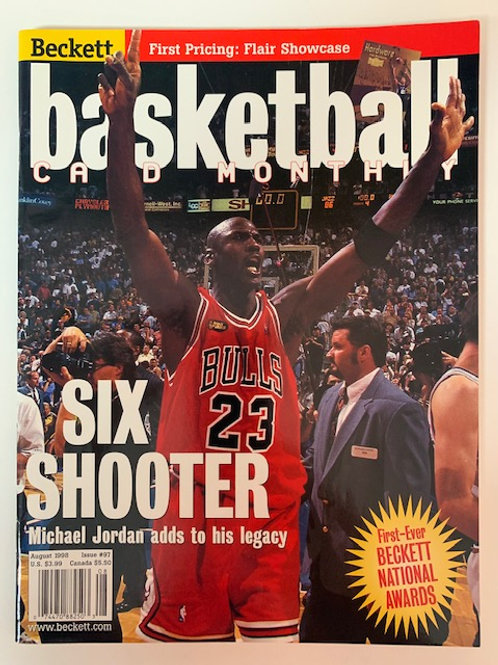 1998 Beckett Card Monthly Issue# 97 Michael Jordan /  Basketball