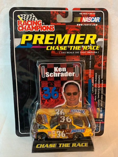 2001 Snickers Cruncher with Car Cover / Ken Schrader 1:64 Box# 3