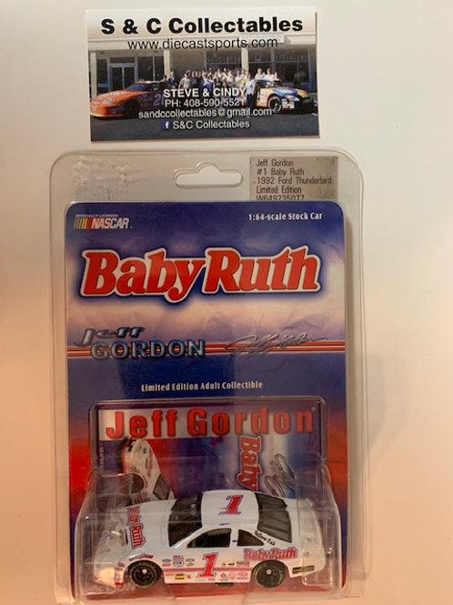 1998 Baby Ruth 1992 Ford Thunderbird  / Jeff Gordon 1:64 Box# AAA