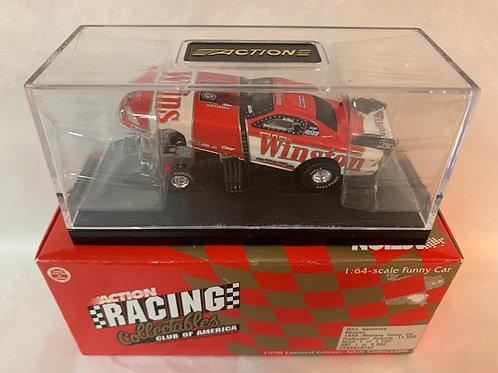 1998 Winston Funny Car / Whit Bazemore 1:64  Shelf
