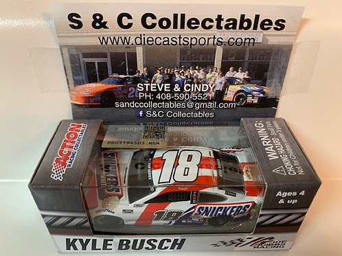 2020  Snickers White / Kyle Busch   1:64