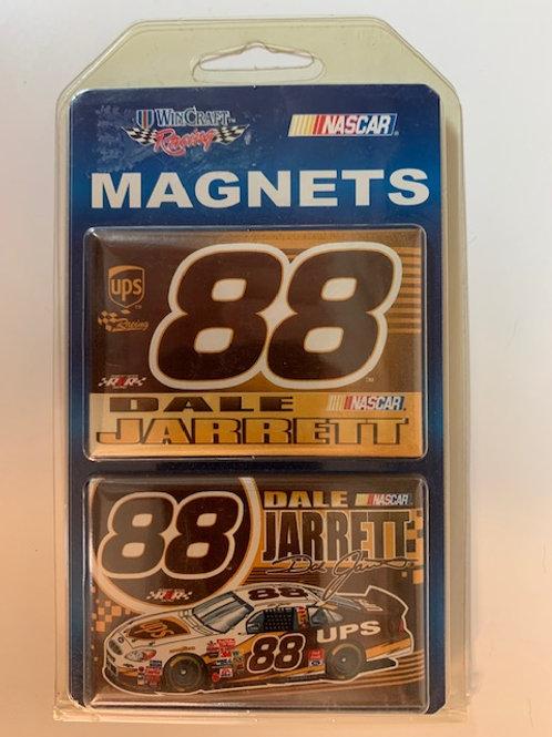 "2002 Two Pack Magnets 3"" X 2"" New / Dale Jarrett   Corner Shelf  1"