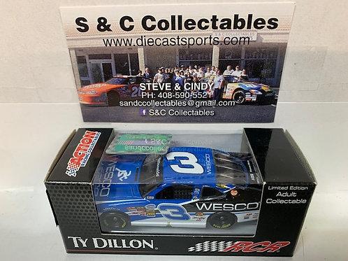 2014 Wesco (Rookie Car) / Ty Dillon 1:64
