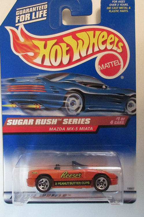 1997 Reese's Peanut Butter Cup / Hot Wheels 1:64  Peg