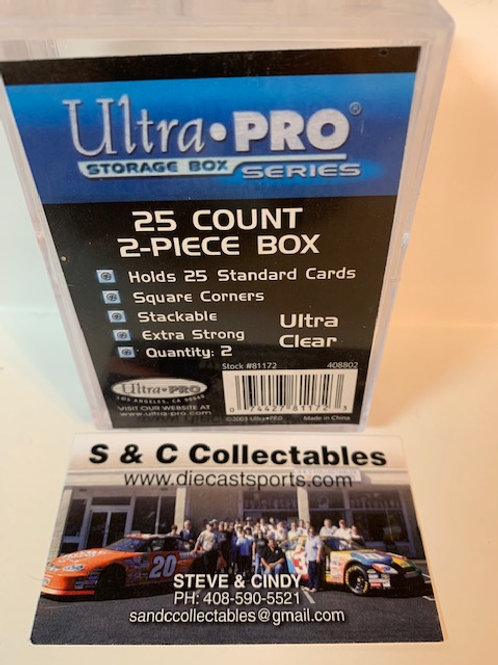 Ultra Pro 25 Count 2-Piece Box set / Ultra Pro  Supplies