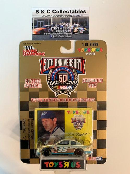 1998 Kleenex Toy's R Us Gold Car / Tim Fedewa 1:64  Box# 42