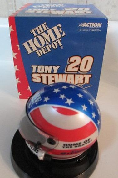 2001 The Home Depot - Stars & Stripes Mini Helmet / Tony Stewart 1:4