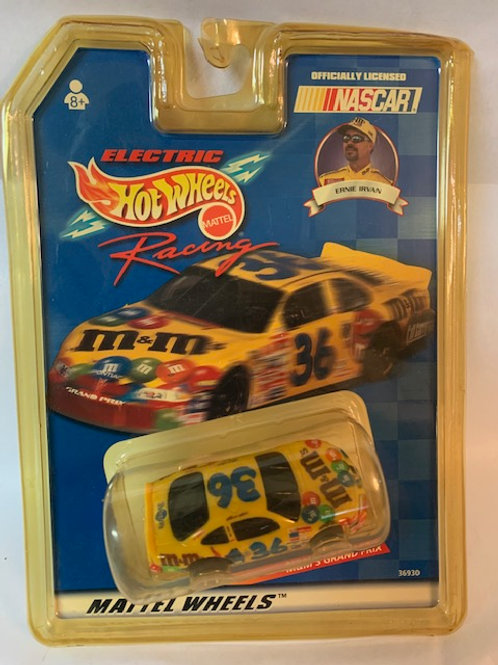 1999 M&M's  Electric Slot Car / Ernie Irvan 1:64 Box# 35