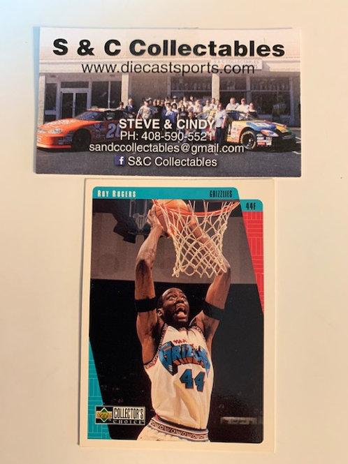 1997-98 Upper Deck Ray Rogers Card# 147  / Basketball--BK1