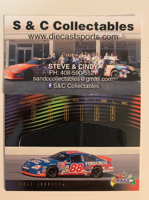 2000 Race-Used Car Cover / Dale Jarrett Cards