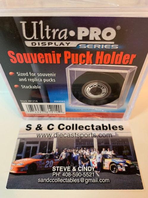 Ultra Pro Souvenir Puck Holder / Ultra Pro-Supplies
