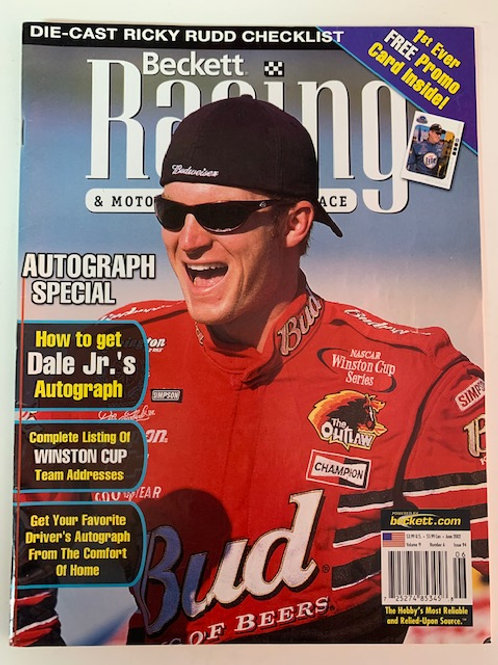 2002 Beckett Card Monthly Issue# 94 / Dale Earnhardt Jr.