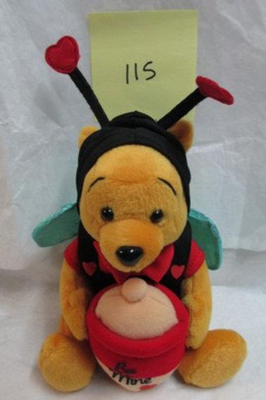 Valentine Pooh / Disney Beanies