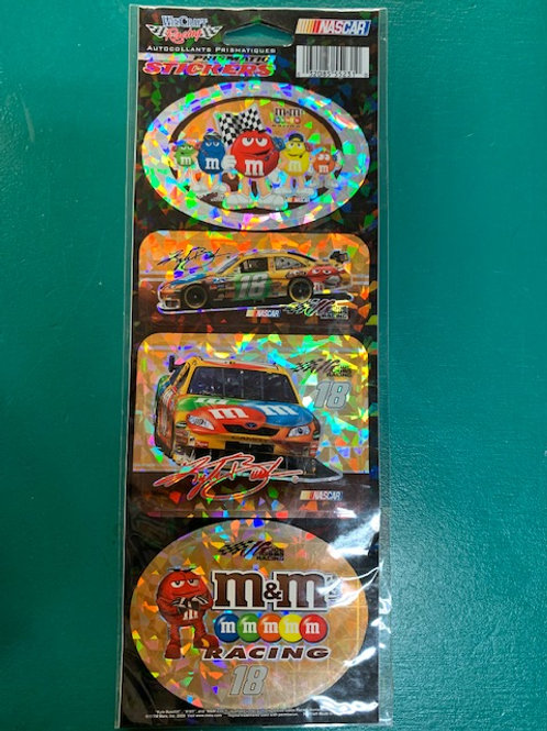 2008 M&M's Prismatic Stickers / Kyle Busch Decal #2