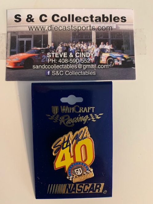 1999 NASCAR 50th 1948-1998 Hat Pins / Sterling Marlin  Hat Pin #7