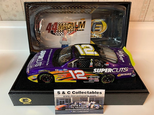 2002 Autographed Supercuts Elite / Kerry Earnhardt 1:24