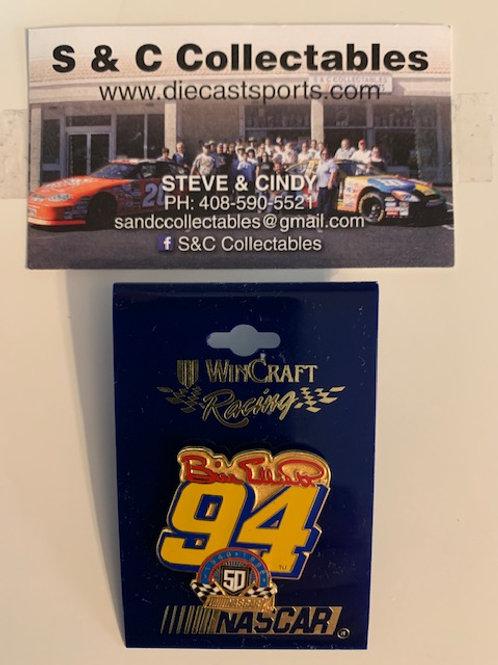 1998 NASCAR 50th 1948-1998 / Bill Elliott   Hat Pin #7