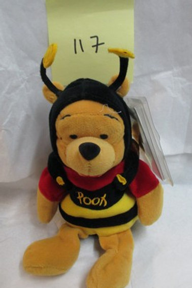 Bumble Bee Pooh / Disney Beanies