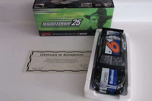 2012 Autographed Ford Eco-boost   / Ricky Stenhouse Jr. 1:24  Wall