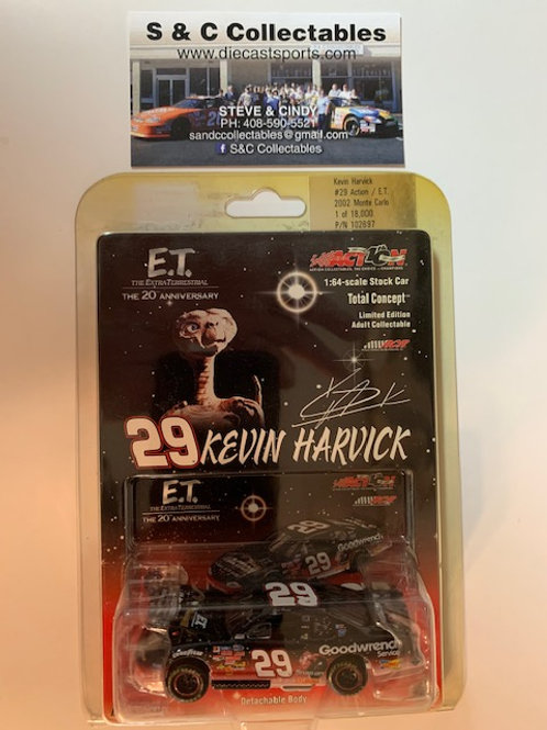 2002 Action - E.T. (Busch Series Race) / Kevin Harvick 1:64  Box# DDD