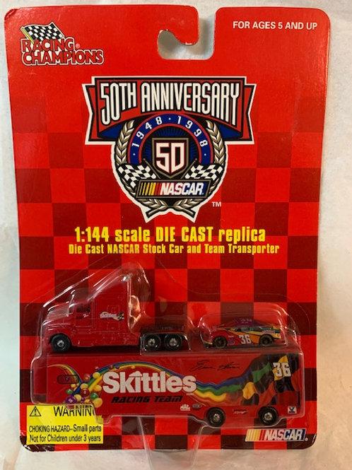 1998 Skittles Transporter   / Ernie Irvan 1:64   1:144 Box# 2