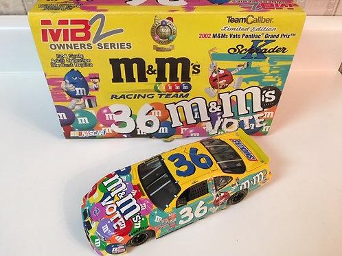 2002 M&M's - Vote Car Team Caliber Owners Series / Ken Schrader 1:24