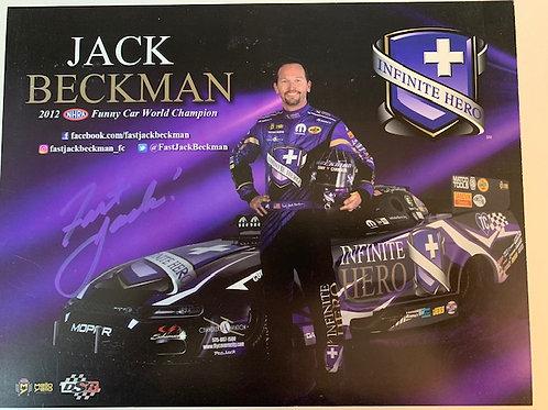 2019 Autographed Infinite Hero Sunny Car / Jack Beckman