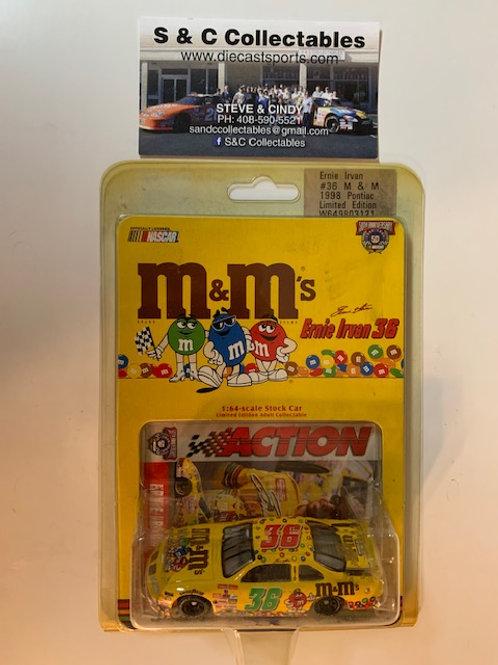 1998 M&M's First Car / Ernie Irvan  1:64 Box# BBB