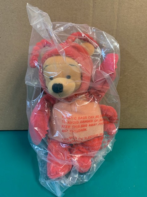 Disney Beanies Winnie the Pooh Cancer