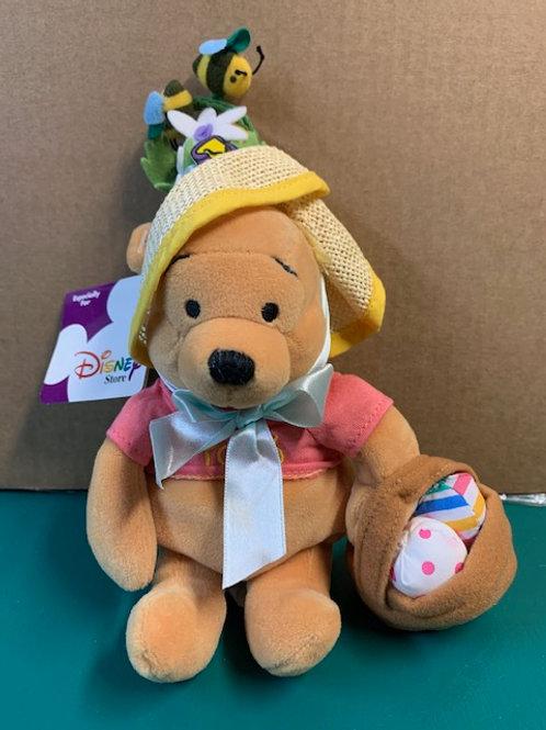 "Disney Beanies Winnie the Pooh Easter Bonnet  8"""