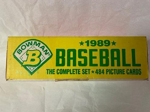 1989 Bowman 484  Card Set  (Never Opened)  / Baseball Box# 43