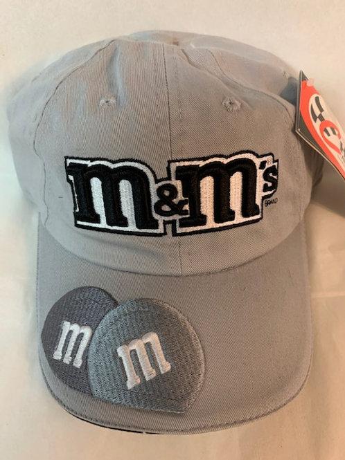 2004 M&M's Brand Black & White  Hat / Elliott Sadler Hat#38
