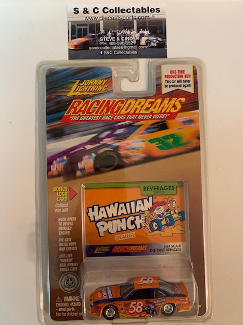 1999 Hawaiian Punch Orange / Johnny Lightning - Hot Wheels 1:64 Box#40