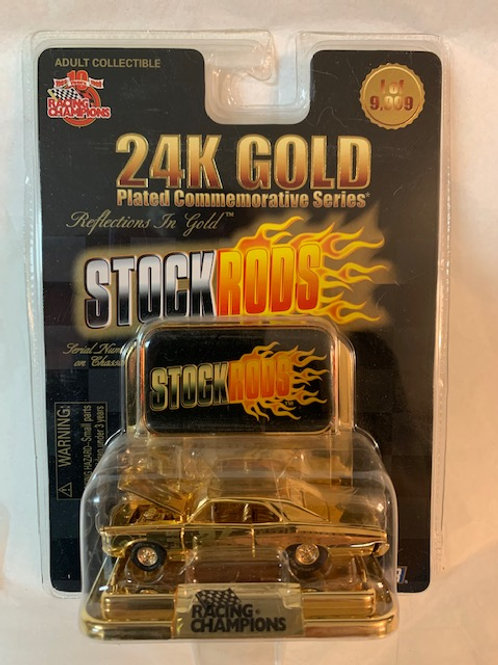 1999 M&M's Stock Rods 24K Gold Plated Reflections / Ernie Irvan 1:64 Box#15