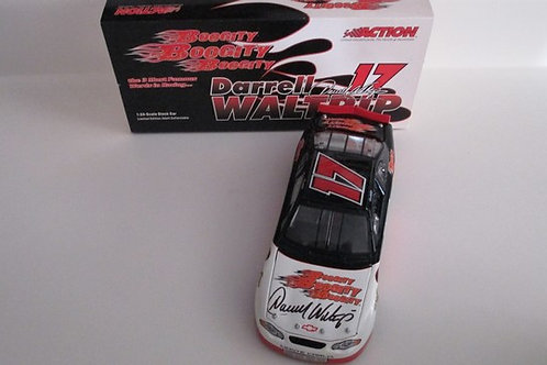 2003 Autographed  Boogity, Boogity, Boogity  / Darrell Waltrip 1:24  Wall