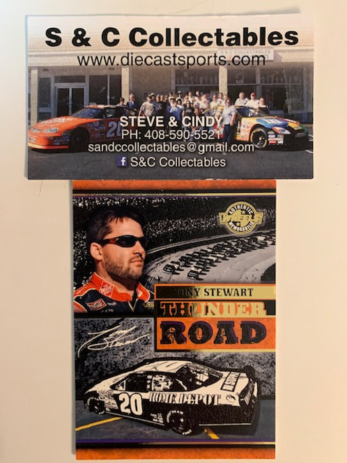 2006 Enhanced with Race-Used Tire Technology  / Tony Stewart   Cards