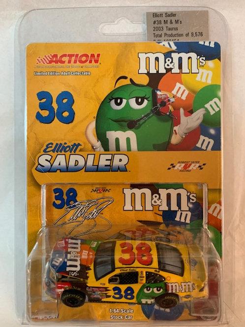 2003 M&M's  / Elliott Sadler 1:64 Box#13