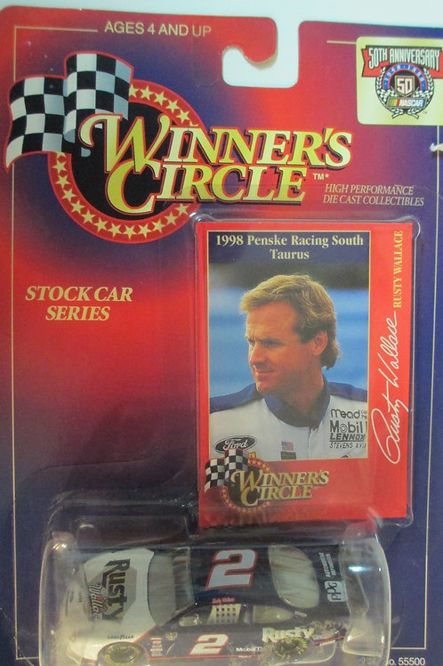 1998 Rusty Wallace & Penske Racing South / Rusty Wallace 1:64 Box# 41