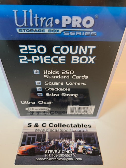 Ultra Pro 250 Count 2-Piece Box / Ultra Pro - Supplies