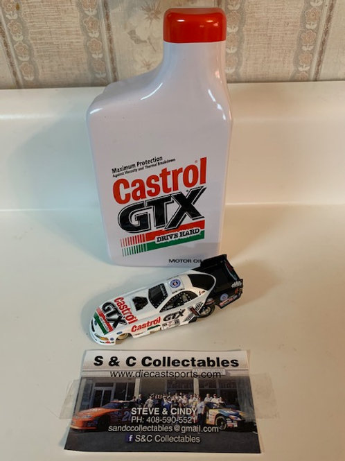 2001 Castrol GTX Funny Car in a Tin / John Force 1:64
