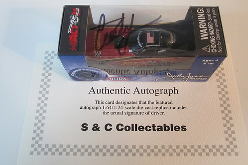 2017 Autograph Advance Auto Parts Funny Car  / Courtney Force 1:64  Shelf# A
