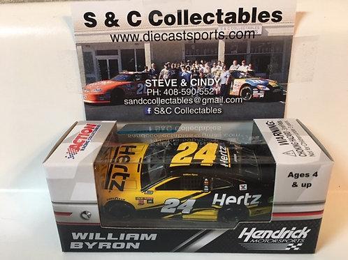 2018 Hertz (Rookie Car)  / William Byron 1:64