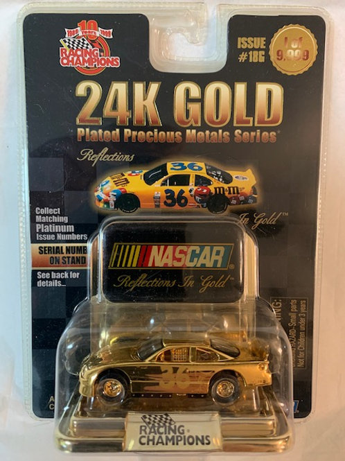 1999 M&M's  24K Gold Plated Reflections / Ernie Irvan 1:64 Box#15