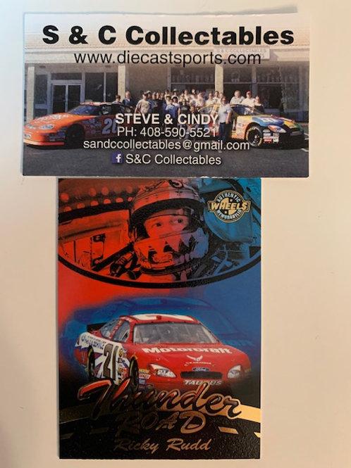2005 Enhanced with Race-Used Tire Technology  / Ricky Rudd  Cards