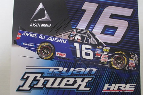 2017 AISIN Group Autographed / Ryan Truex