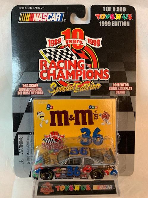 1999 M&M Special Edition Silver Chrome / Ken Schrader 1:64 Box#15