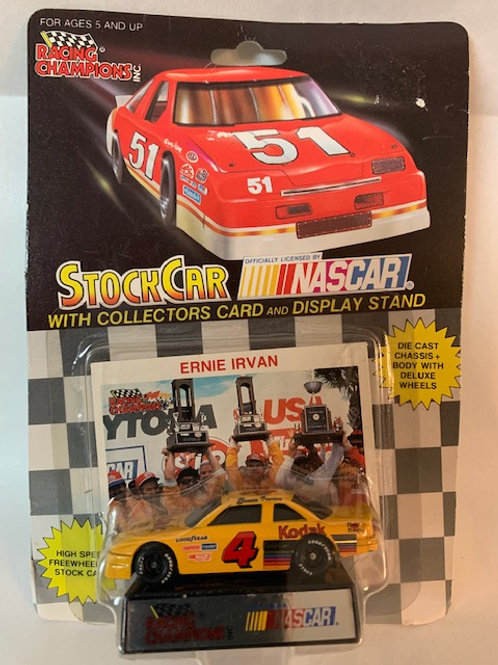 1992 Kodak Film with Collectors Card / Ernie Irvan 1:64 Box#35