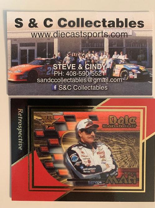 "2003 Retrospective ""Man & Machine"" / Dale Earnhardt Sr.  Box# FF"