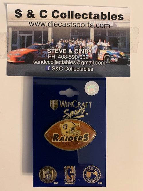 2003 Raiders Football Hat Pin Box# 5